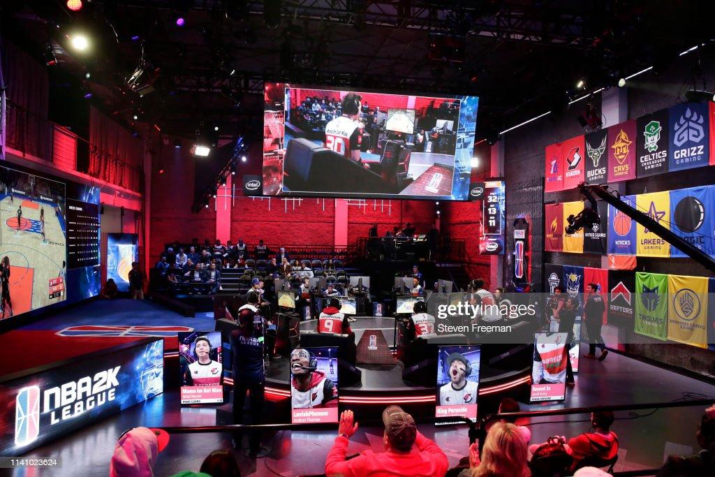 Blazer5 Gaming v Knicks Gaming : News Photo