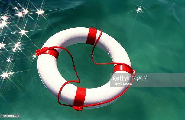 Generic picture of a life preserver on 17 March 1999 AFR NEWS Picture by JESSICA HROMAS