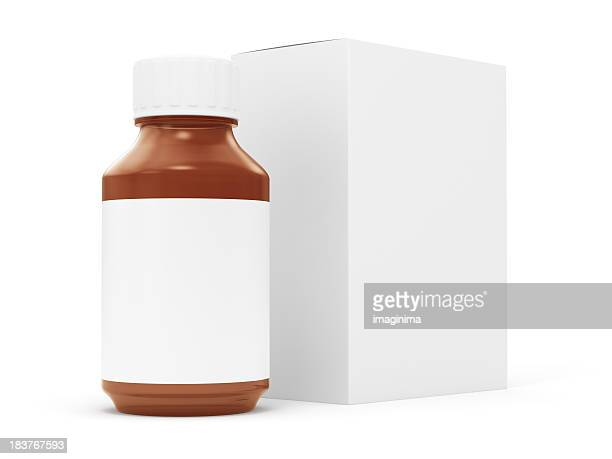 Generic Pill Bottle and Box