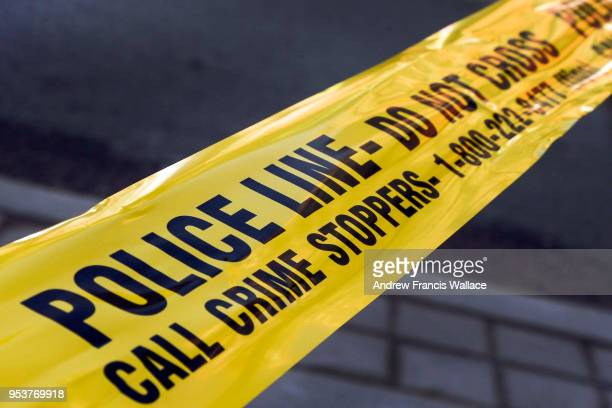 Generic police tape file picture