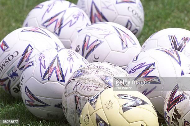 Generic Sport image Soccer balls belonging to the Kingz Football Club