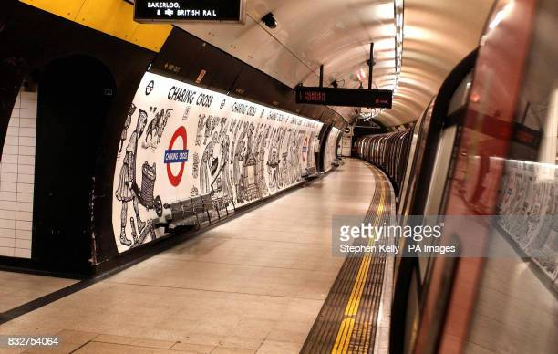 Generic stock picture of a Charing Cross tube station platform London