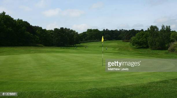 A generic view of the 14th green during the Senior PGA Professional Championships at Northampton County Golf Club on May 29 in Northampton England