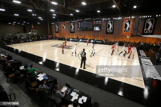 A generic view of the arena during the game between the Wisconsin Herd and the Memphis Hustle during the NBA G League Winter Showcase on December 20...