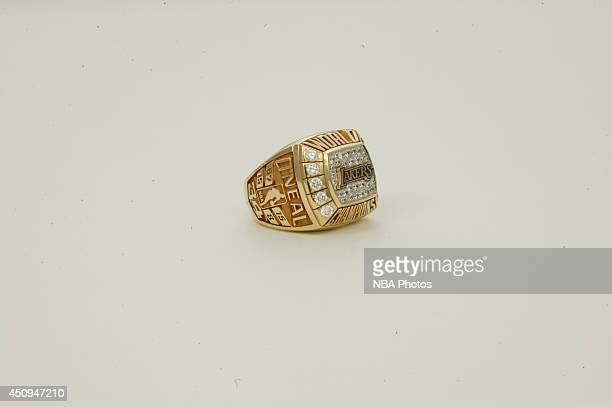 A generic view of the championship ring of 19992000 Los Angeles Lakers at NBA Entertainment Studios in Secaucus New Jersey NOTE TO USER User...