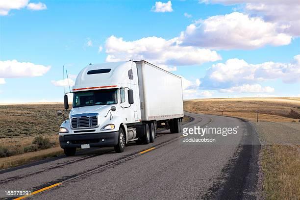 generic white truck