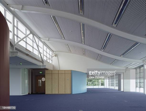 Generics Office, Cambridge, United Kingdom, Architect Cowper Griffiths, Generics Office Space With Blue Paint Wall