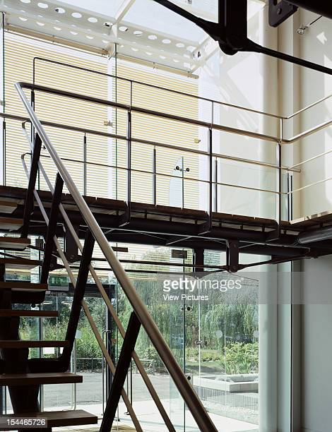 Generics Office, Cambridge, United Kingdom, Architect Cowper Griffiths, Generics Office Main Stairs And Entrance
