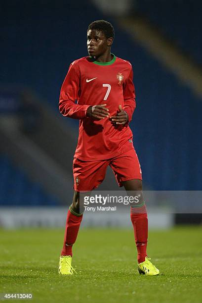 Generoso of Portugal during the Under 17 International match between England U17 and Portugal U17 at Proact Stadium on August 29 2014 in Chesterfield...