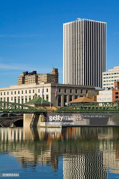 Genesee River, Rochester, New York State, USA