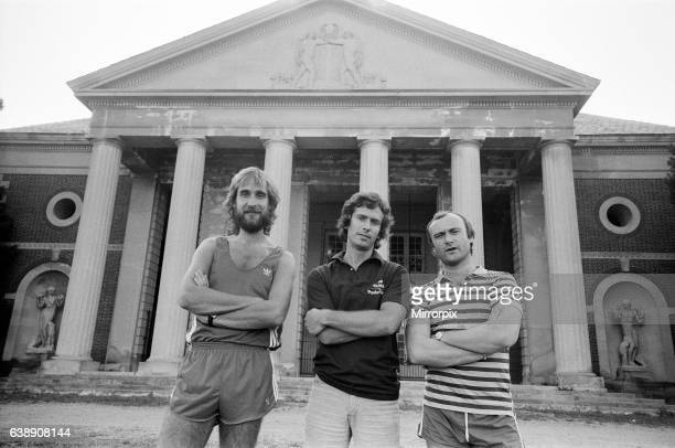 Genesis ahead of a concert in Saratoga Springs New York State 26th August 1982
