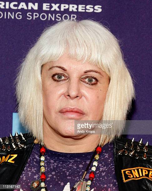 Genesis Breyer POrridge attends the premiere of The Ballad of Genesis and Lady Jaye during the 2011 Tribeca Film Festival at AMC Loews Village 7 on...