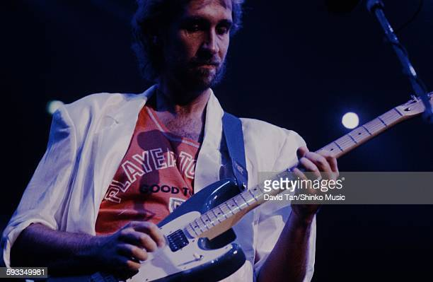 Genesis Mike Rutherford live at New York Madison Square Garden NYC October 1 1986