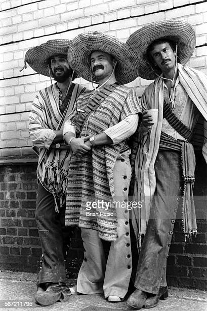 Genesis Mike Rutherford Phil Collins And Tony Banks On The Set Of The 'Illegal Alien' Video Genesis Mike Rutherford Phil Collins And Tony Banks On...