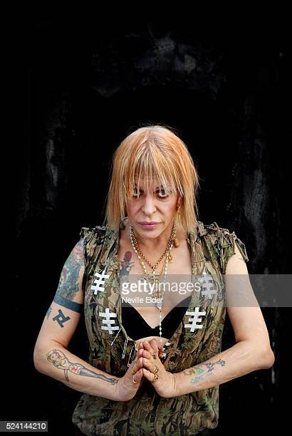 Genesis P Orridge transgender singer and founder of highly influential alternative rock groups Psychic TV and Throbbing Gristle Now in his 50's she...