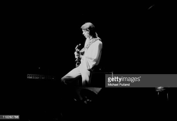 Genesis perform on stage London Steve Hackett