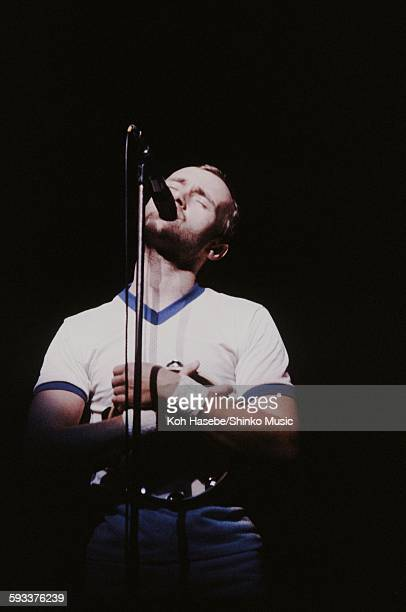 Genesis Phil Collins live at Hammersmith Odeon in London London March 27 1980