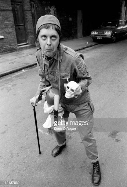 Genesis POrridge of Throbbing Gristle in London circa 1980