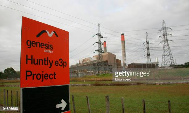 Genesis Power Ltd.'s Huntly coal-fired power station stands in Waikato, New Zealand, Feb. 26, 2007. Shutting New Zealand's Huntly power station will...
