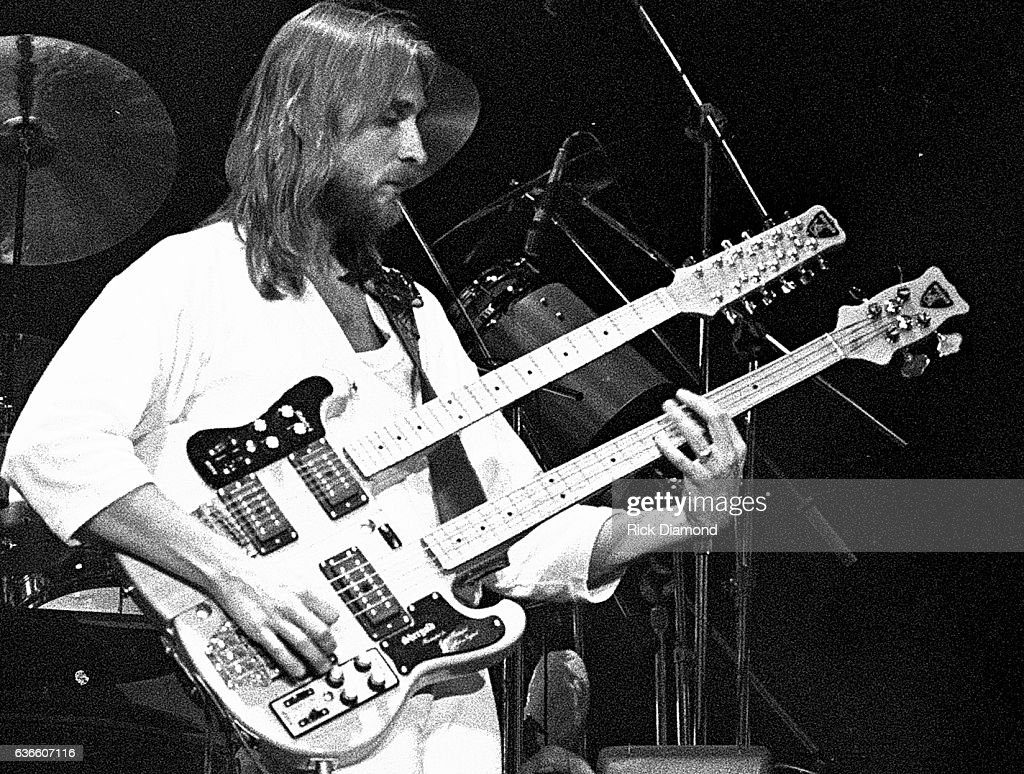 Genesis, Rock and Roll Hall of Fame (Class of 2010) Michael Rutherford performs at The Omni Coliseum in Atlanta Georgia October 4, 1978