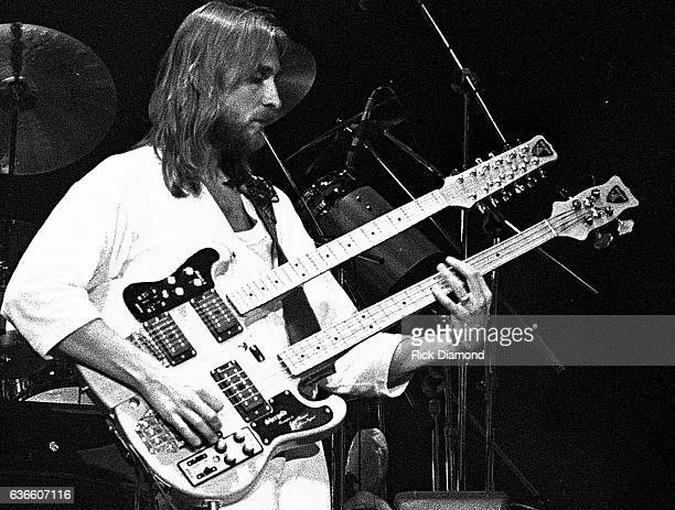 Genesis Rock and Roll Hall of Fame Michael Rutherford performs at The Omni Coliseum in Atlanta Georgia October 4 1978