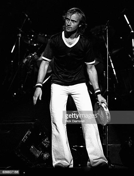 Genesis Rock and Roll Hall of Fame Singer/Songwriter Phil Collins performs at The Omni Coliseum in Atlanta Georgia October 4 1978