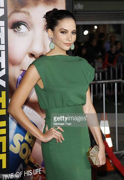 """Genesis Rodriguez arrives at the Los Angeles premiere of """"Identity Thief"""" held at Mann Village Theatre on February 4, 2013 in Westwood, California."""