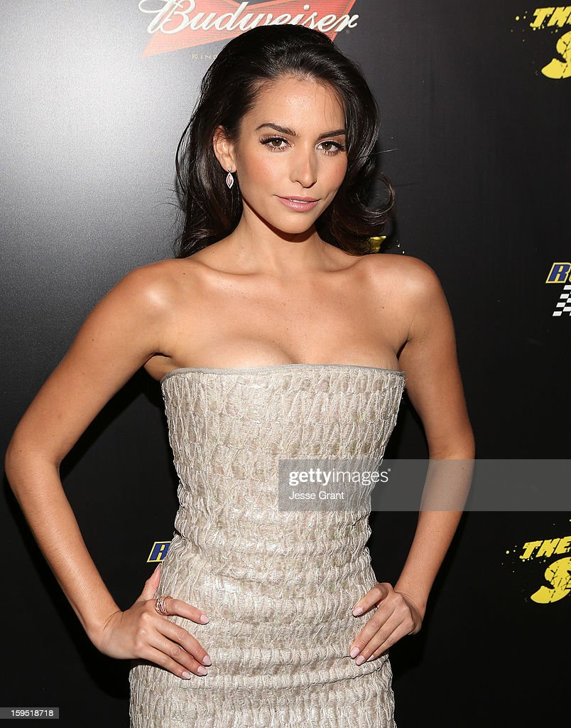 Genesis Rodriguez attends 'The Last Stand' World Premiere at Grauman's Chinese Theatre on January 14, 2013 in Hollywood, California.