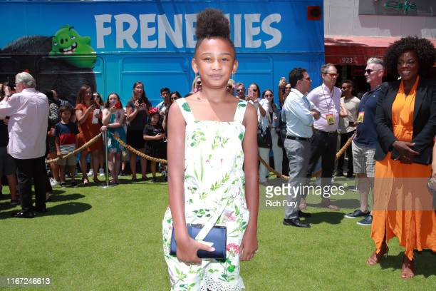 Genesis Tennon attends the Premiere of Sony's The Angry Birds Movie 2 on August 10 2019 in Los Angeles California