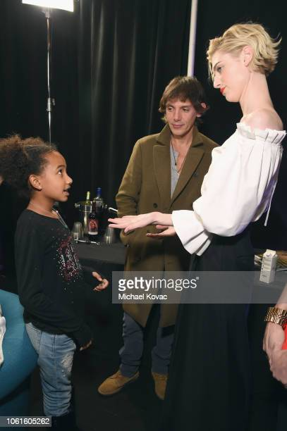 Genesis Tennon Lukas Haas and Elizabeth Debicki attend the gala screening of Widows during AFI FEST 2018 at the TCL Chinese Theatre on November 14...