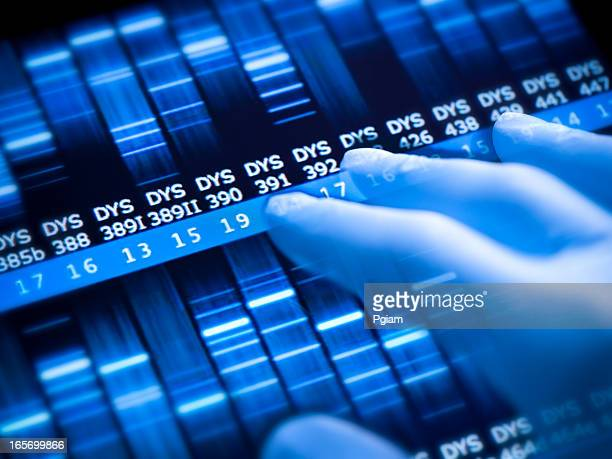 Genetic research at the laboratory