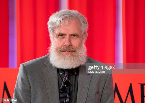 Geneticist George Church speaks speaks during the Time 100 Summit event on April 23 in New York.