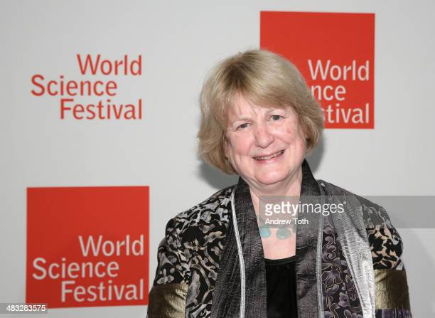 Geneticist MaryClaire King attends the World Science Festival Gala on April 7 2014 in New York United States