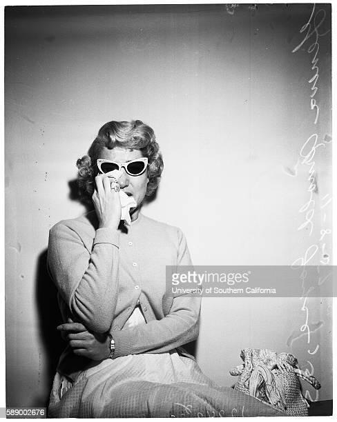 Geneva Arnold Joyce, wife number 3 in a bigamy case.