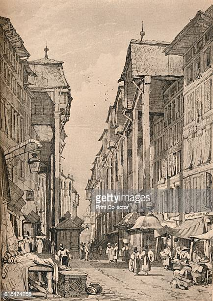 Geneva' c1830 Geneva is a city in Switzerland that lies at the southern tip of expansive Lac Leman From Sketches by Samuel Prout edited by Charles...