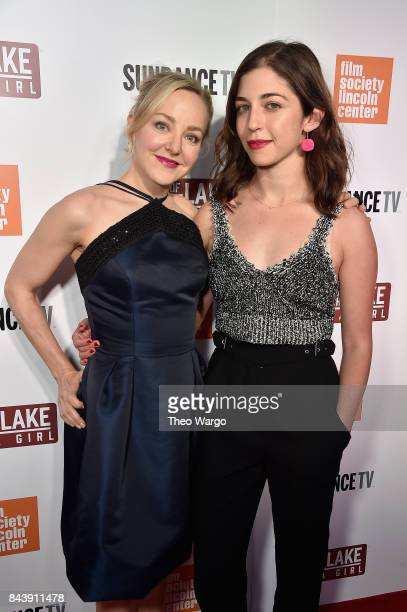 Geneva Carr and Annabelle Attanasio attend 'Top Of The Lake China Girl' Premiere at Walter Reade Theater on September 7 2017 in New York City