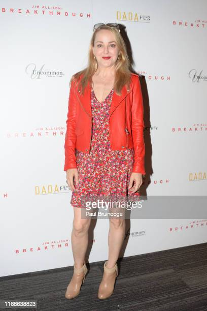 Geneva Carr attends Dada Films With The Cinema Society Host The Premiere Of Jim Allison Breakthrough at The Landmark at 57 West on September 15 2019...