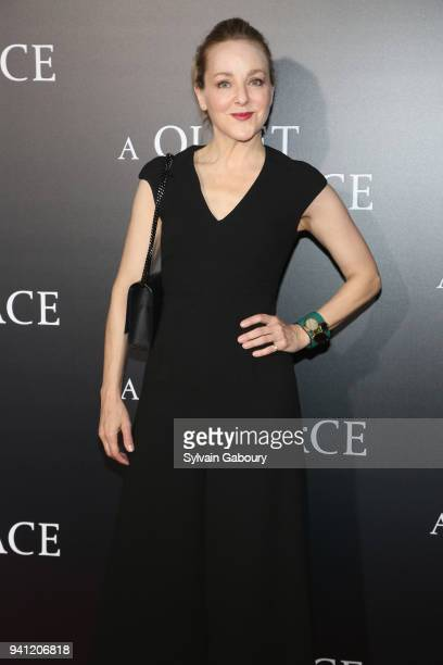 Geneva Carr attends New York Premiere of 'A Quiet Place' on April 2 2018 in New York City
