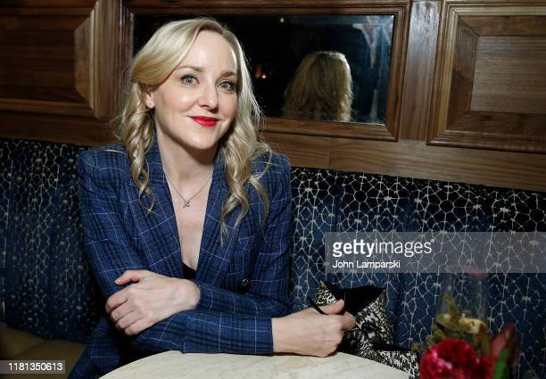 Geneva Carr attends Serendipity New York Screening after party at Society Cafe at Walker Hotel Greenwich Village on October 15 2019 in New York City