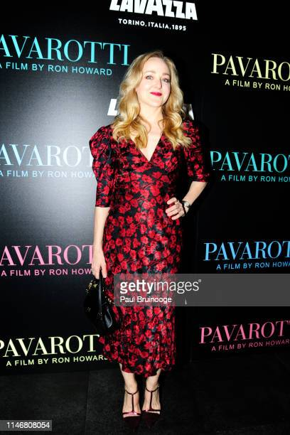 Geneva Carr attends Special Red Carpet Screening Of Ron Howard's Documentary Pavarotti at iPic Theater on May 28 2019 in New York