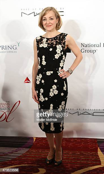 Geneva Carr attends the 85th Annual Drama League Awards Ceremony and Luncheon at The New York Marriott Marquis on May 15 2015 in New York City