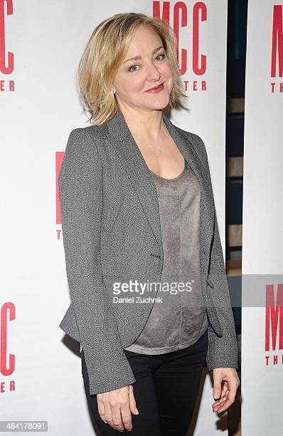 Geneva Carr attends the Hand To God cast press preview at MTC Rehearsal Studios on January 21 2014 in New York City