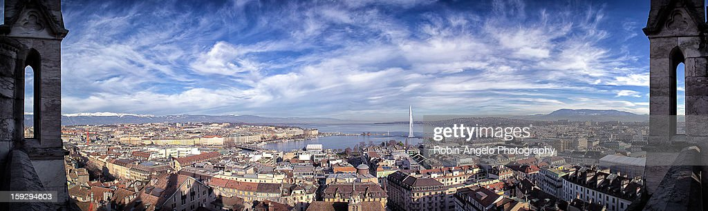 Geneva Panorama View : Photo