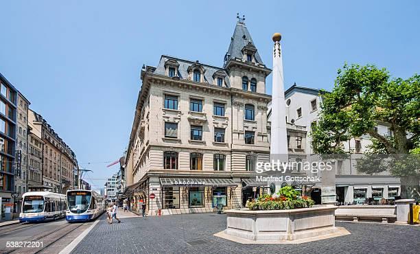 Geneva Place du Molard