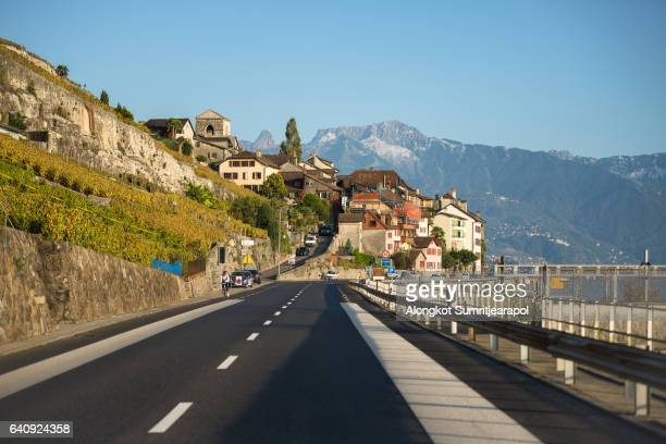 Geneva road, Geneva, Switzwerland