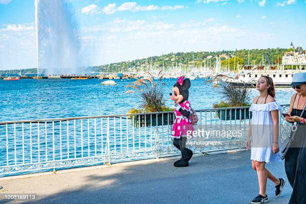 2019 geneva, switzerland - minnie mouse stock pictures, royalty-free photos & images