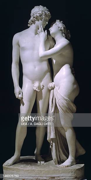 Geneva Villa La Grange Venus and Adonis by Antonio Canova marble figure group