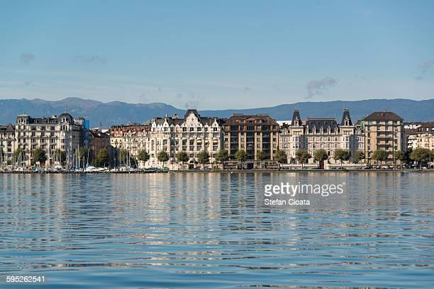Geneva water front