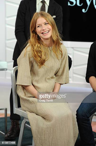 Genevieve Angelson appears on Amazon's Style Code Live on October 20 2016 in New York City