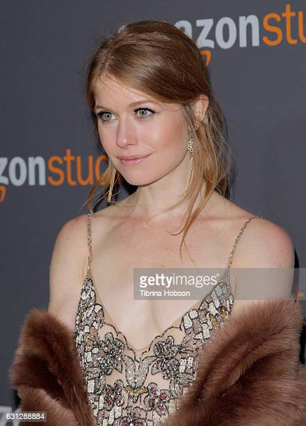 Genevieve Angelson attends Amazon Studios Golden Globes Party at The Beverly Hilton Hotel on January 8 2017 in Beverly Hills California